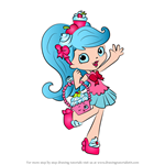 How to Draw Jessicake from Shopkins