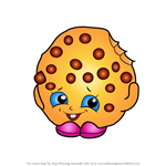 How to Draw Kooky Cookie from Shopkins