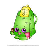 How to Draw Lee Tea from Shopkins