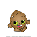How to Draw Lenny Lime from Shopkins
