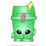 How to Draw Lisa Litter from Shopkins