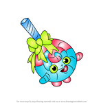 How to Draw Lolli Poppins from Shopkins