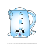 How to Draw Ma Kettle from Shopkins