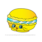 How to Draw Macca Roon from Shopkins