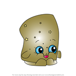 How to Draw Marsha Mellow from Shopkins