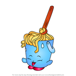 How to Draw Molly Mops from Shopkins