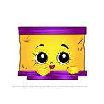 How to Draw Nilla Slice from Shopkins