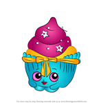 How to Draw Patty Cake from Shopkins