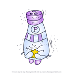 How to Draw Peppe Pepper from Shopkins