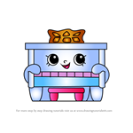 How to Draw Piano Man from Shopkins