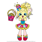 How to Draw Popette from Shopkins