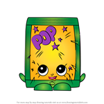 How to Draw PopRock from Shopkins