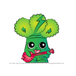 How to Draw Rockin' Broc from Shopkins