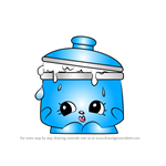How to Draw Saucy Pan from Shopkins