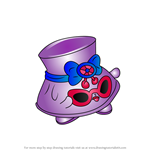 How to Draw Shady from Shopkins