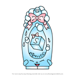 How to Draw Shampoo Sue from Shopkins