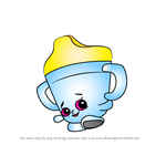 How to Draw Sippy Sips from Shopkins