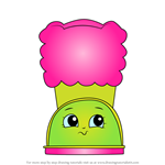 How to Draw Snug Ugg from Shopkins