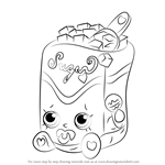 How to Draw Sugar Lump from Shopkins