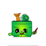 How to Draw Suzie Sushi from Shopkins