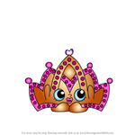 How to Draw Tiara from Shopkins