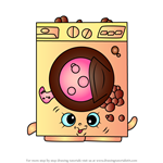 How to Draw Washa from Shopkins