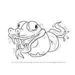 How to Draw Twisted Python from The Ugglys Pet Shop