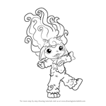 How to Draw Lilly-goat from The Zelfs