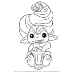 How to Draw Mint Spellinda from The Zelfs