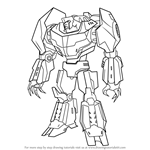 How to Draw Grimlock from Transformers