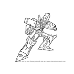 How to Draw Megatronus from Transformers