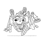 How to Draw Springload from Transformers