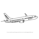 How to Draw a Boeing 737