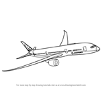 How to Draw a Boeing 787
