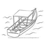 How to Draw Boat in Water