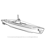 How to Draw a U-boat