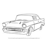 How to Draw a 1957 Chevy Bel Air