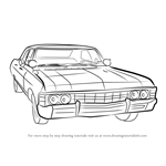 How to Draw a 1967 Chevy Impala