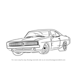 How to Draw a 1969 Dodge Charger