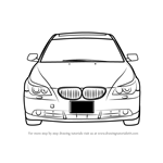 How to Draw Car Front View