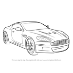 How to Draw Aston Martin DB9