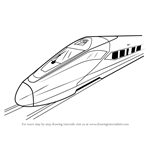 How to Draw a High Speed Electric Train