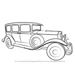 How to Draw a Vintage Rolls Royce