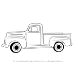 How to Draw a Vintage Truck
