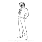 How to Draw Godot Armando from Ace Attorney