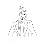 How to Draw Larry Butz from Ace Attorney