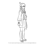 How to Draw Maya Fey from Ace Attorney