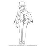 How to Draw Trucy Wright from Ace Attorney