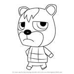 How to Draw Aisle from Animal Crossing