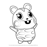 How to Draw Apple from Animal Crossing
